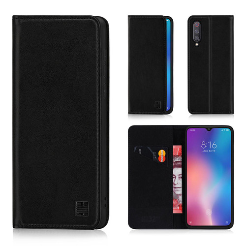 Xiaomi Mi 9 SE 'Classic Series' Real Leather Book Wallet Case