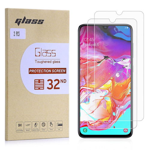 Samsung Galaxy A70 (2019) Tempered Glass Screen Protector - 2 Pack