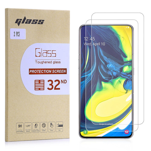 Samsung Galaxy A80 (2019) Tempered Glass Screen Protector - 2 Pack