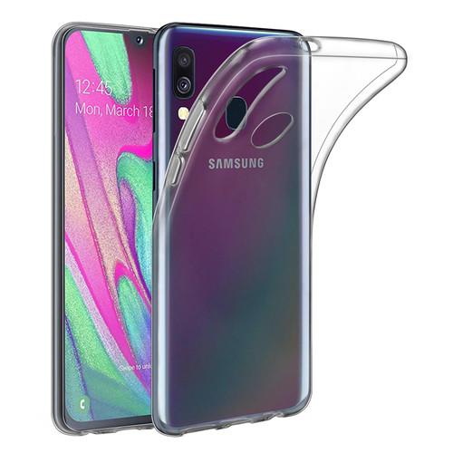 Samsung Galaxy A40 (2019) 'Clear Gel Series' TPU Case Cover - Clear