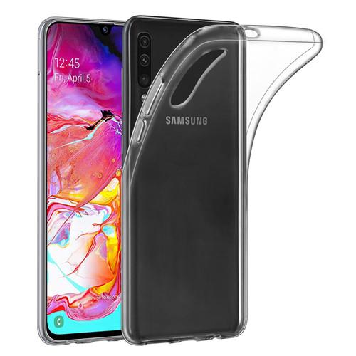 Samsung Galaxy A70 (2019) 'Clear Gel Series' TPU Case Cover - Clear