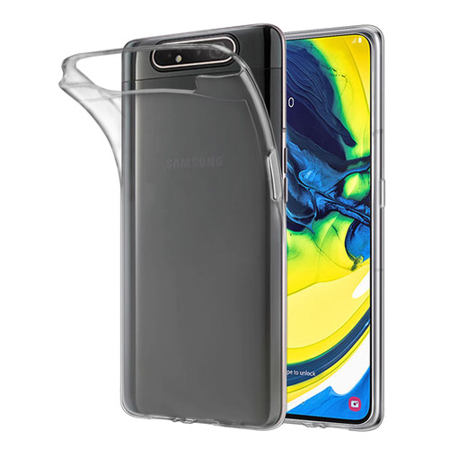 Samsung Galaxy A80 (2019) 'Clear Gel Series' TPU Case Cover - Clear