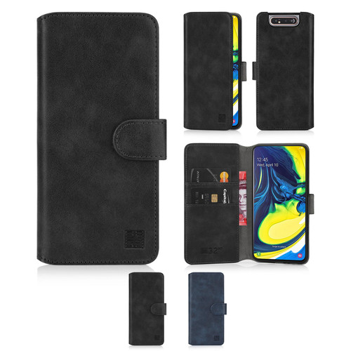 Samsung Galaxy A80 (2019) 'Essential Series 2.0' PU Leather Wallet Case Cover