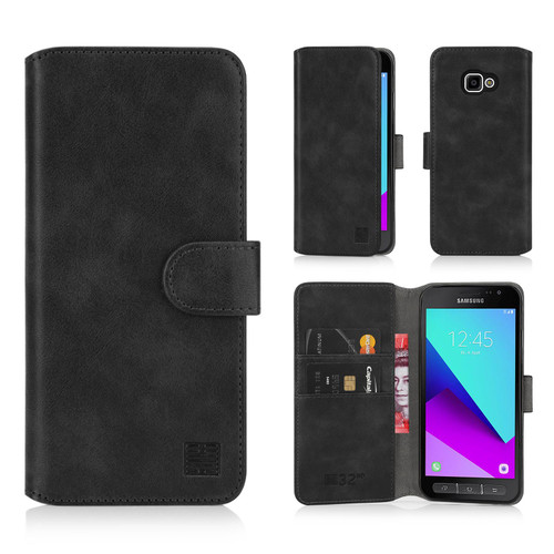 Samsung Galaxy XCover 4 & XCover 4S 'Essential Series 2.0' PU Leather Wallet Case Cover