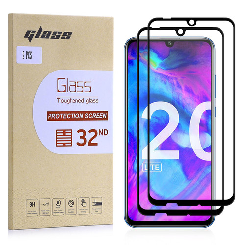 Huawei Honor 20 Lite Tempered Glass Screen Protector - 2 Pack