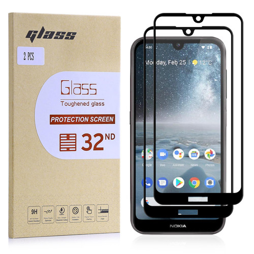 Nokia 4.2 (2019) Tempered Glass Screen Protector - 2 Pack