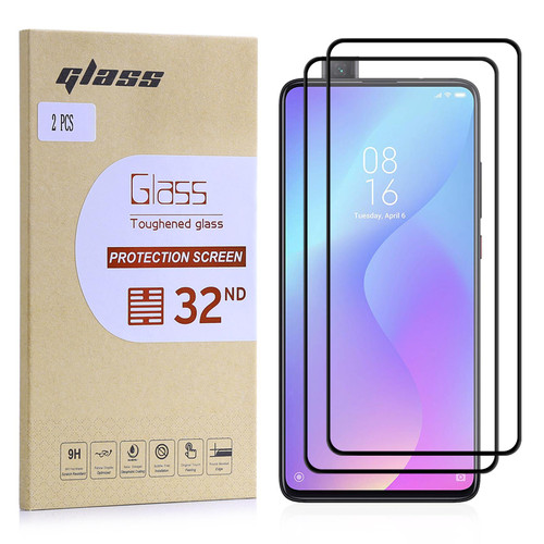 Xiaomi Mi 9T Tempered Glass Screen Protector - 2 Pack