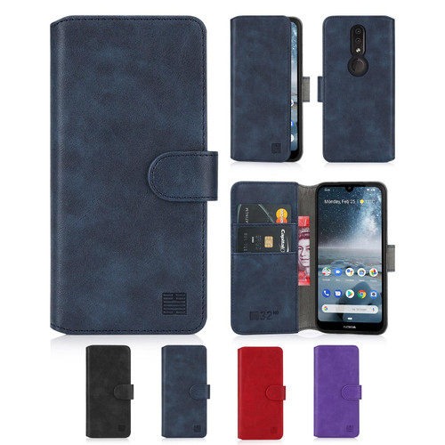 Nokia 4.2 (2019) 'Essential Series 2.0' PU Leather Wallet Case Cover