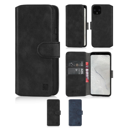 Google Pixel 4 XL 'Essential Series 2.0' PU Leather Wallet Case Cover