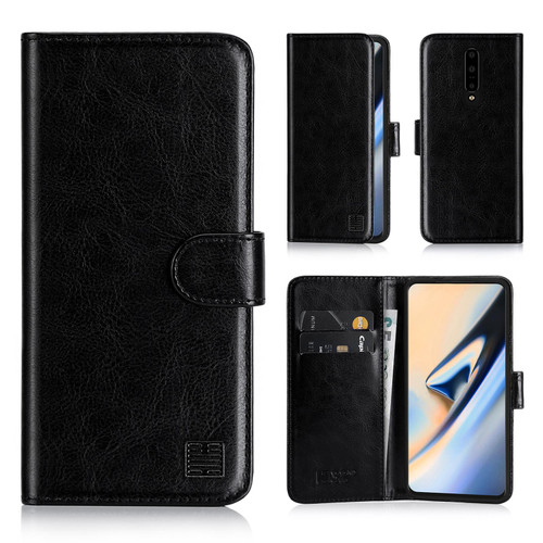 OnePlus 7 Pro 'Book Series' PU Leather Wallet Case Cover