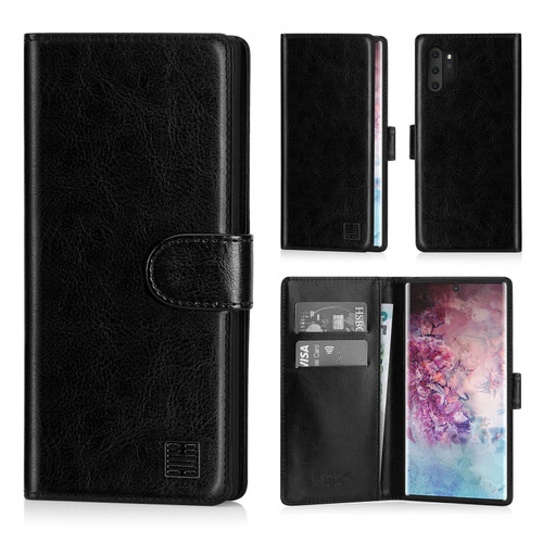 Samsung Galaxy Note 10 Plus 'Book Series' PU Leather Wallet Case Cover