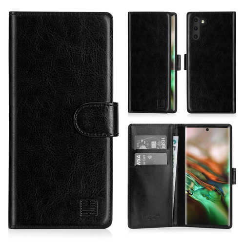 Samsung Galaxy Note 10 'Book Series' PU Leather Wallet Case Cover