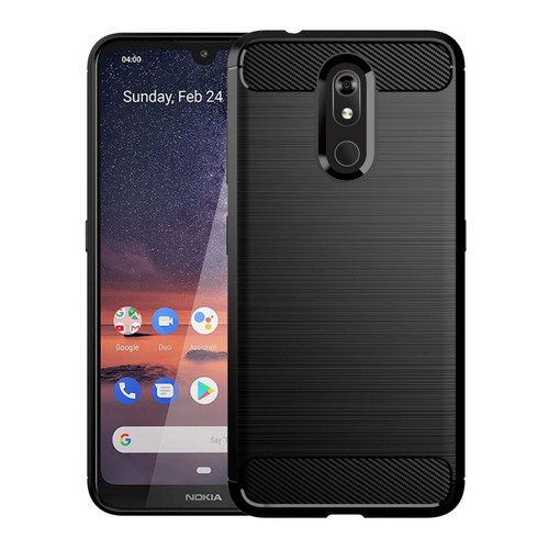 Nokia 3.2 (2019) 'Carbon Series' Slim Case Cover
