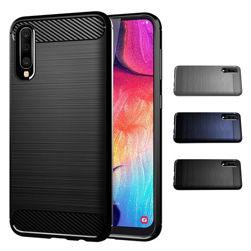Samsung Galaxy A50, A50S & A30S (2019) 'Carbon Series' Slim Case Cover