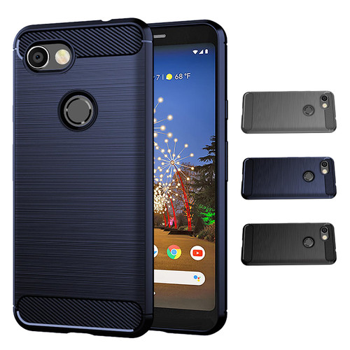 Google Pixel 3A XL 'Carbon Series' Slim Case Cover
