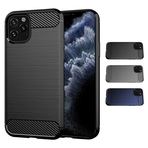 "Apple iPhone 11 Pro (5.8"") 'Carbon Series' Slim Case Cover"