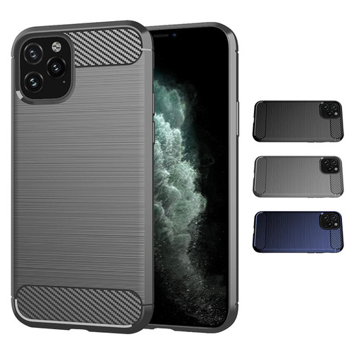 "Apple iPhone 11 Pro Max (6.5"") 'Carbon Series' Slim Case Cover"