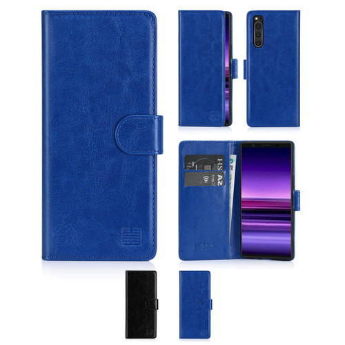 Sony Xperia 5 (2019) 'Book Series' PU Leather Wallet Case Cover