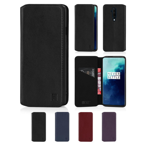 OnePlus 7T Pro 'Classic Series 2.0' Real Leather Book Wallet Case