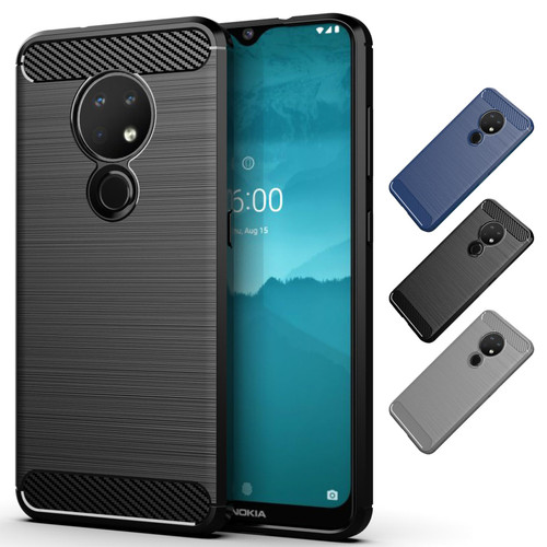 Nokia 6.2 (2019) 'Carbon Series' Slim Case Cover