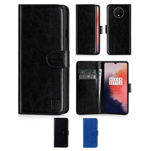 OnePlus 7T 'Book Series' PU Leather Wallet Case Cover