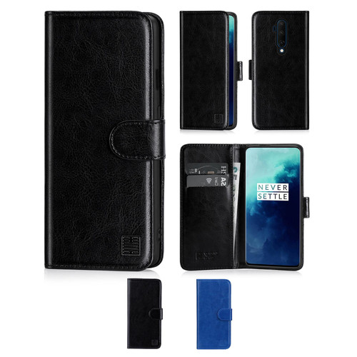 OnePlus 7T Pro 'Book Series' PU Leather Wallet Case Cover