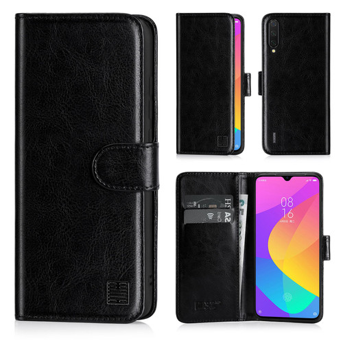 Xiaomi Mi 9 Lite 'Book Series' PU Leather Wallet Case Cover