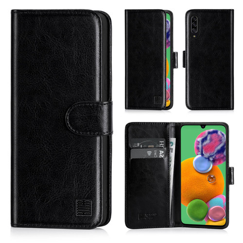 Samsung Galaxy A90 5G (2019) 'Book Series' PU Leather Wallet Case Cover