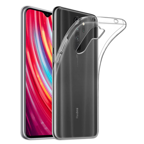 Xiaomi Redmi Note 8 Pro 'Clear Gel Series' TPU Case Cover - Clear