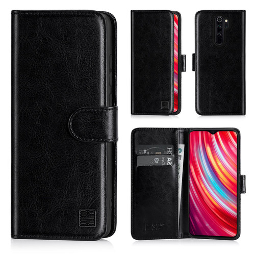 Xiaomi Redmi Note 8 Pro 'Book Series' PU Leather Wallet Case Cover