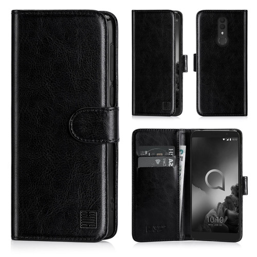 Alcatel 1X (2019) 'Book Series' PU Leather Wallet Case Cover