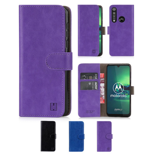 Motorola Moto G8 Plus 'Book Series' PU Leather Wallet Case Cover