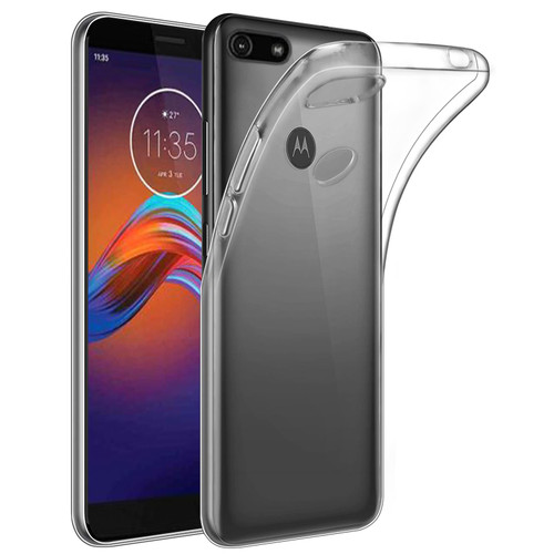 Motorla Moto E6 Play 'Clear Gel Series' TPU Case Cover - Clear