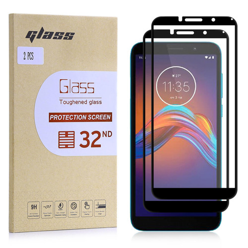Motorola Moto E6 Play Tempered Glass Screen Protector - 2 Pack