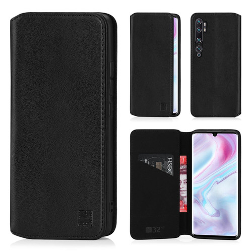 Xiaomi Mi Note 10 'Classic Series 2.0' Real Leather Book Wallet Case