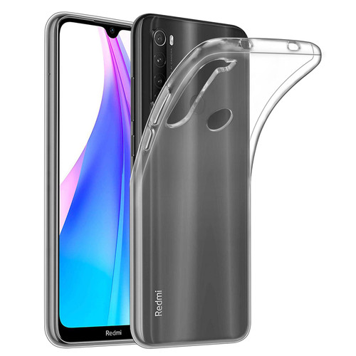 Xiaomi Redmi Note 8T 'Clear Gel Series' TPU Case Cover - Clear