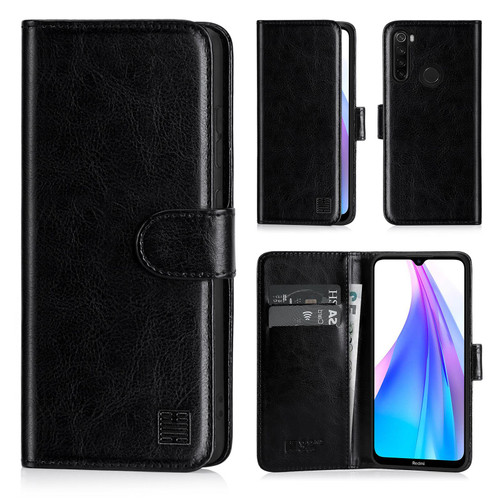Xiaomi Redmi Note 8T 'Book Series' PU Leather Wallet Case Cover
