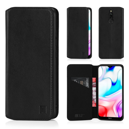 Xiaomi Redmi 8 'Classic Series 2.0' Real Leather Book Wallet Case