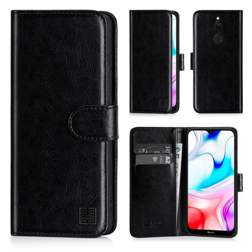Xiaomi Redmi 8 'Book Series' PU Leather Wallet Case Cover