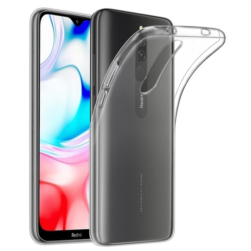 Xiaomi Redmi 8 'Clear Gel Series' TPU Case Cover - Clear