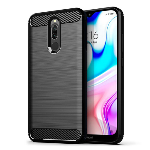 Xiaomi Redmi 8 'Carbon Series' Slim Case Cover