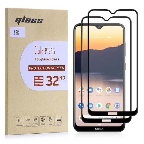 Nokia 2.3 Tempered Glass Screen Protector - 2 Pack