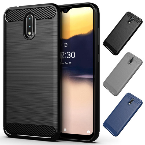 Nokia 2.3 'Carbon Series' Slim Case Cover