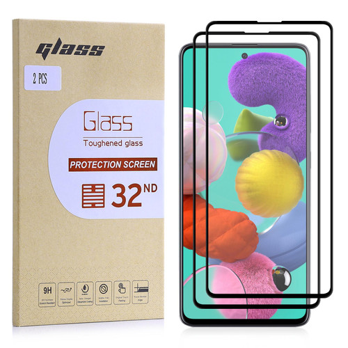 Samsung Galaxy A71 (2020) Tempered Glass Screen Protector - 2 Pack