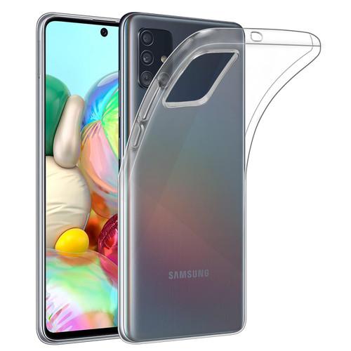Samsung Galaxy A71 (2020) 'Clear Gel Series' TPU Case Cover - Clear