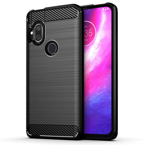 Motorola Moto One Hyper 'Carbon Series' Slim Case Cover