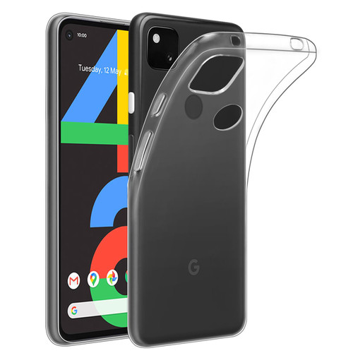 Google Pixel 4A 'Clear Gel Series' TPU Case Cover - Clear