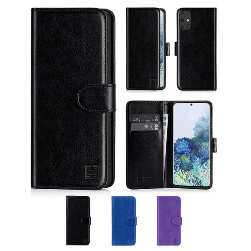 Samsung Galaxy S20 Plus 'Book Series' PU Leather Wallet Case Cover