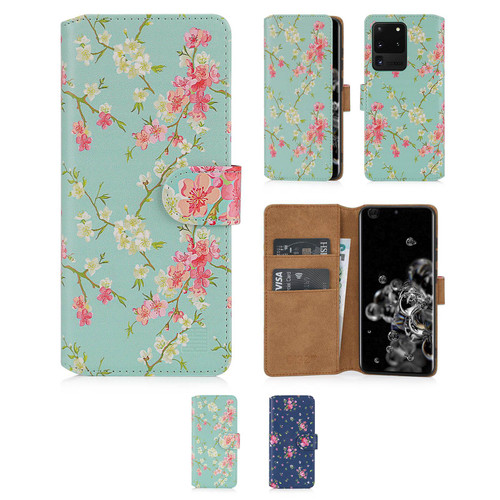 Samsung Galaxy S20 Ultra 'Floral Series 2.0' PU Leather Design Book Wallet Case