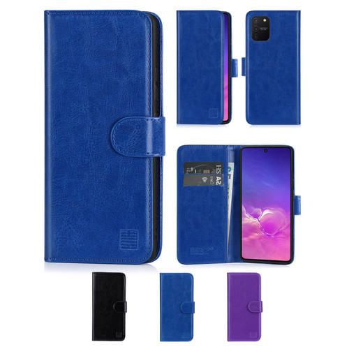 Samsung Galaxy S10 Lite 'Book Series' PU Leather Wallet Case Cover